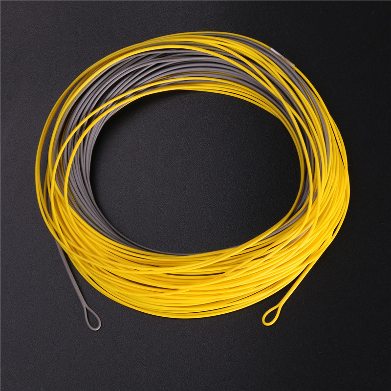 High Quality Weight Forward Floating Fly Fishing Line With Welded Loops 100FT 4-8WT Windcutter Fly Line(China (Mainland))
