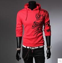 XS-XXL Dragonic Sweatshirts Lovers Fleeces Unisex Baseball Jacket Casual Sweatshirt Fitted Hoodies Fashion Outerwear Cotton Tops(China (Mainland))