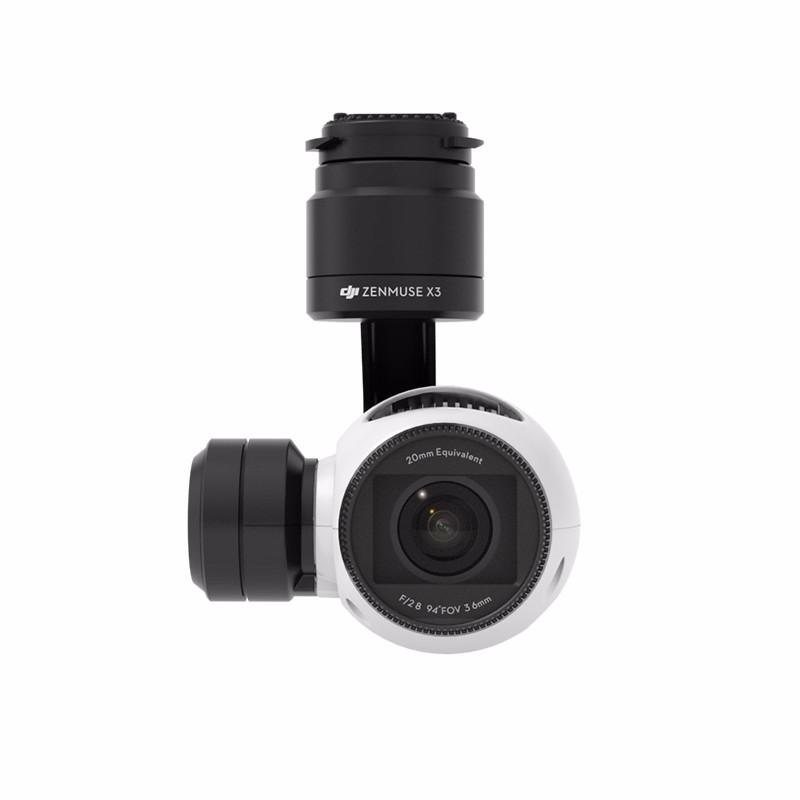 Original DJI Zenmuse X3 Gimbal and Camera 4K Video HD camera 12 million pixel shooting 94 degree wide-angle zoom lens