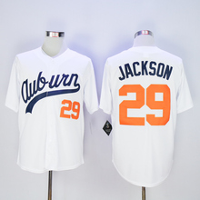 Bo Jackson Jersey,Auburn University 29 Bo Jackson Jersey White Size M-3XL(China (Mainland))