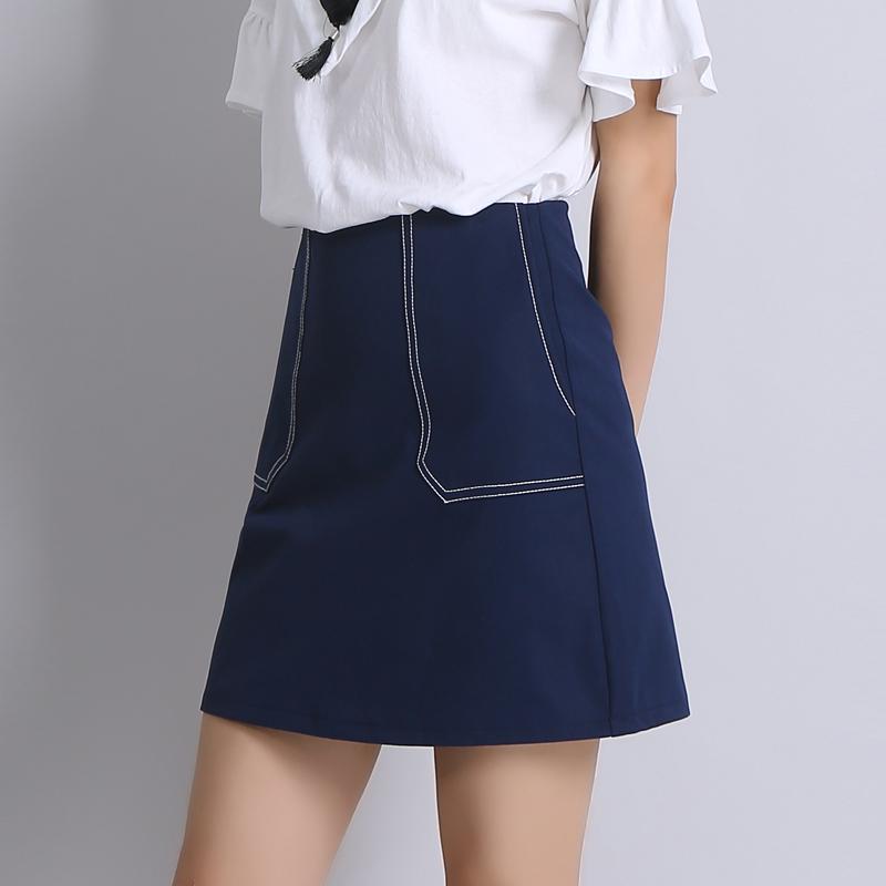 Blue Pencil Skirts Promotion-Shop for Promotional Blue Pencil ...