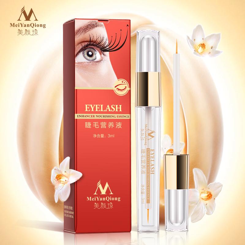 100% Original Eyelash Enhancer Nourishing Essence Growth Treatments 7 Days Grow 2-3mm Face Care Eyelashes Lengthening Thick(China (Mainland))