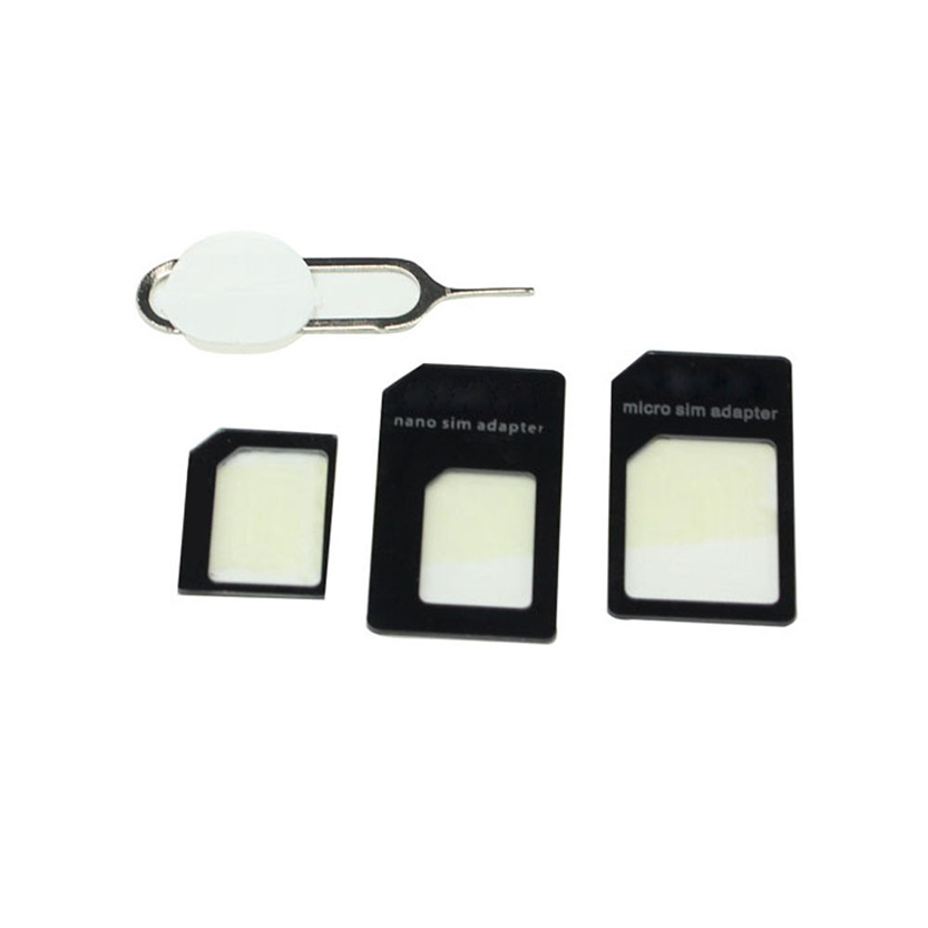 Best With Pin Convert Nano SIM Card to Micro Standard Adapter For iPhone and for Samung July 07(China (Mainland))