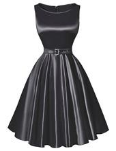 Pretty Black Red Purple Summer Dress plus size women clothing Belle Poque BP000004 50s 60s Vintage Dresses Swing(China (Mainland))