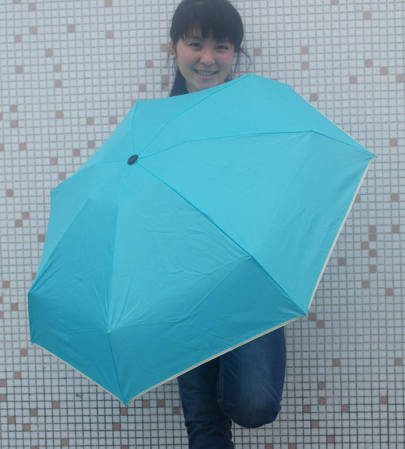 1 PCS Diameter 92cm folding umbrellas ultra light exceed short 190g amphibious uv umbrella rain women