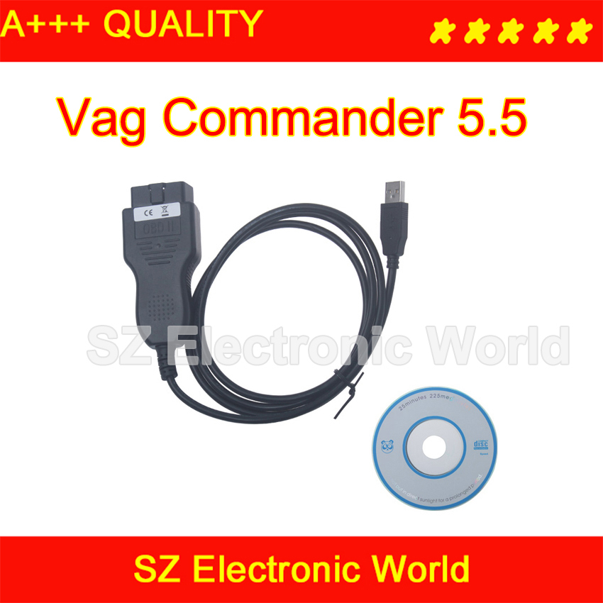 VAG CAN Commander 5.5+ Pin Reader 3.9Beta tracking number - SZ Electronic World store