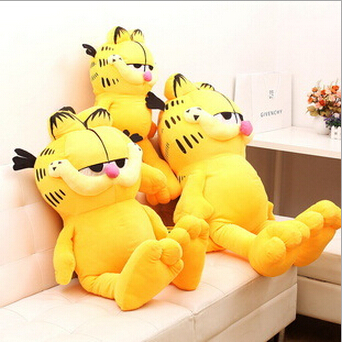 Hot sale!! 1pcs 12'' 30cm Plush Garfield Cat Plush Stuffed Toy High Quality Soft Plush Figure Doll Free Shipping(China (Mainland))