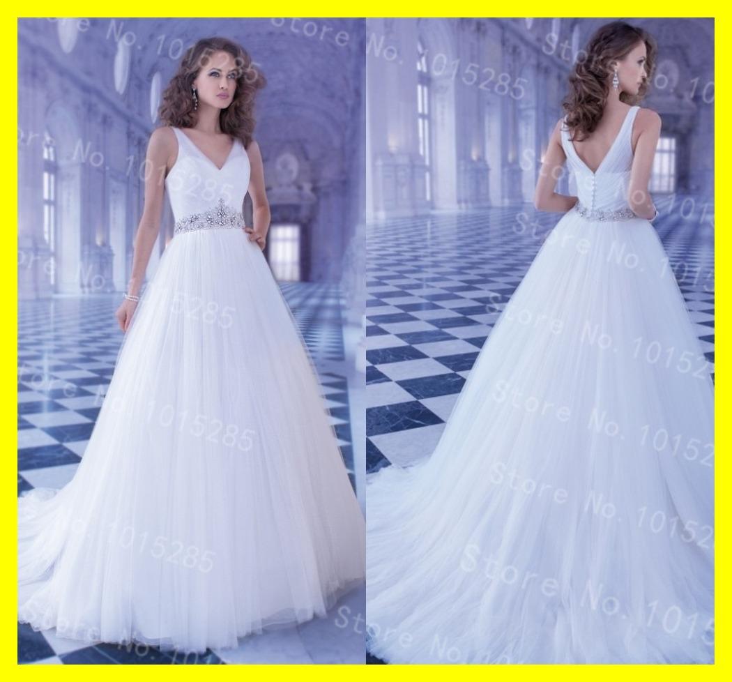 Pink Wedding Dress A Line Floor Length Sweep Brush Train