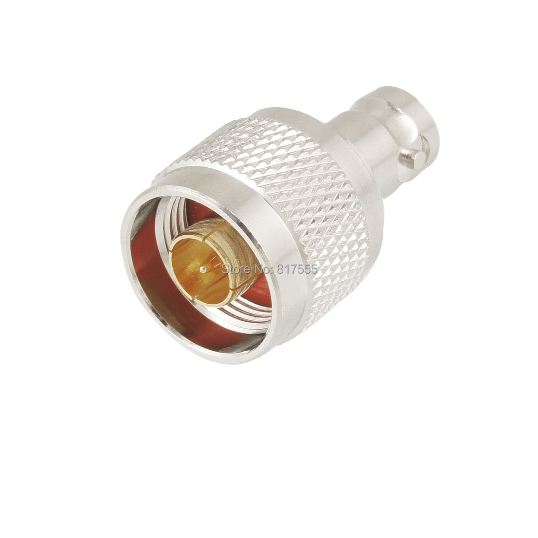 N Male Plug to BNC Female Plug Straight Coaxial Cable Connector Discount 50(China (Mainland))