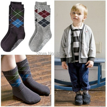 Toddlers Boys Cotton Socks High Knee Socks Antiskid Leg Warmer Xt8(China (Mainland))