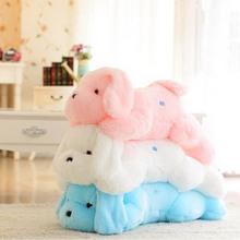 2016 New Hot Sale 50 CM Colorful Luminous teddy dog LED Light Plush Pillow Cushion Kids Toys Stuffed Animal Doll Birthday Gift(China (Mainland))