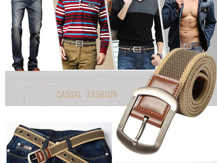 thicken canvas Communist military belt Army tactical men strap 6 colors PD010 - UrStyle store