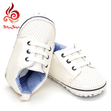 little boys study walk font b shoes b font fashion solid breathable lace up children font