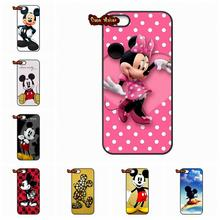 Minnie Mickey Mouse Cartoon couple kissing Case Cover For Xiaomi Mi 3 4 5 Redmi Note 2 3 Samsung Galaxy Alpha Ace 2 3 4 A3 A5 A7(China (Mainland))
