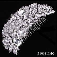 wedding hair comb promotion