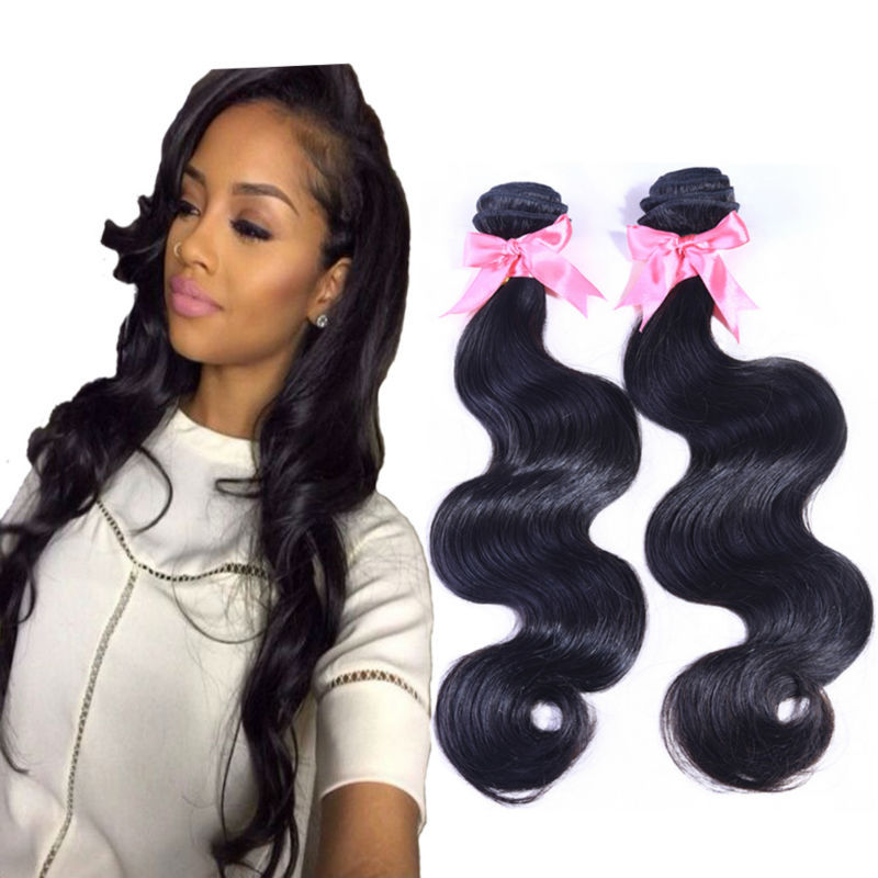 Brazilian virgin hair body wave cheap human hair bundles 4pcs brazilian body wave natural black hair 6a unprocessed virgin hair