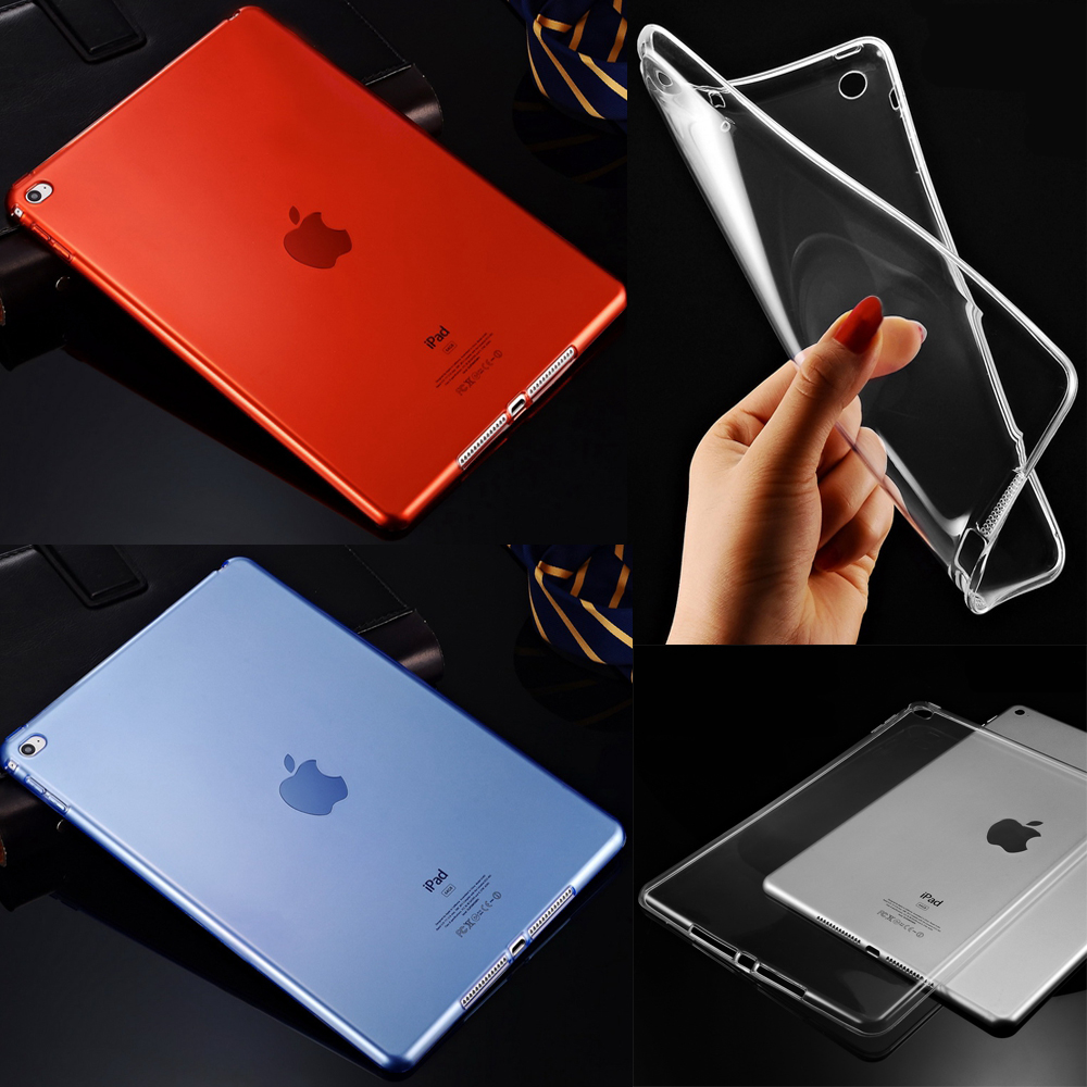 For Apple iPad 2 3 4 Transparent Soft Clear Slim TPU Durable Protector Skin 9.7 inch Tablet Back Cover Case(China (Mainland))