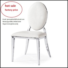 modern style stainless steel dining chairs  hotel stainless steel chair(China (Mainland))