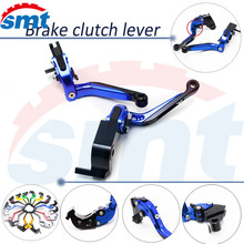 motorcycle brake lever xj6 foldable extendable clutch levers blue HONDA CBR 600 F2,F3,F4,F4i 1991 1992 1993 1994 1995 - SMT Motorcycle ZONE store