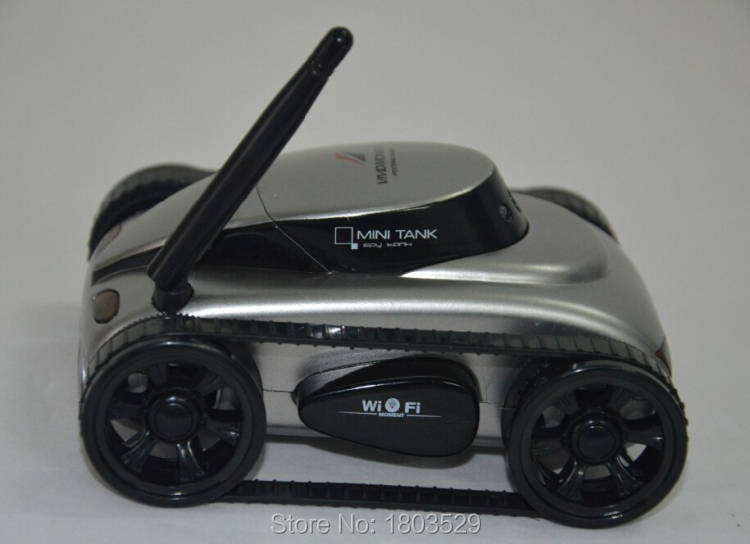 Free Shipping 777-270 RC Car wilreless spy Tank Wi-Fi 4CH RC Tank Iphone/Ipad/Android Wifi Control with Camera for kids asgift