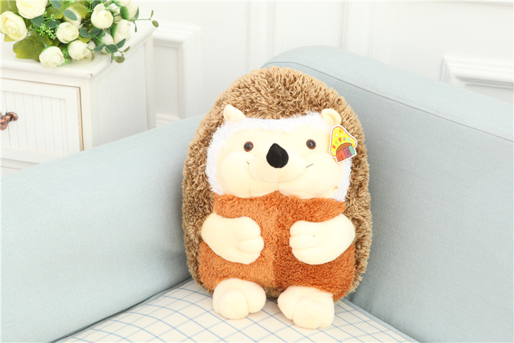 Cute Lovely Hedgehog Plush Toys Soft Stuffed Doll 13cm One Piece(China (Mainland))