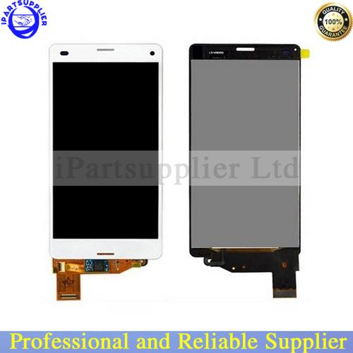 100% Guarantee Original LCD Display Screen touch Digitizer Assembly Sony Xperia Z3 Compact Mini D5803 D5833