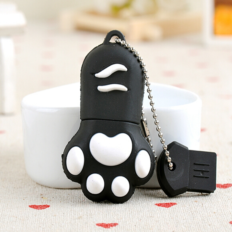2015 real capacity Mini cat claw USB Flash drive Memory Stick Pen Drive 2GB 4GB 8GB 16GB 32GB usb stick 64GB pendrive gift(China (Mainland))