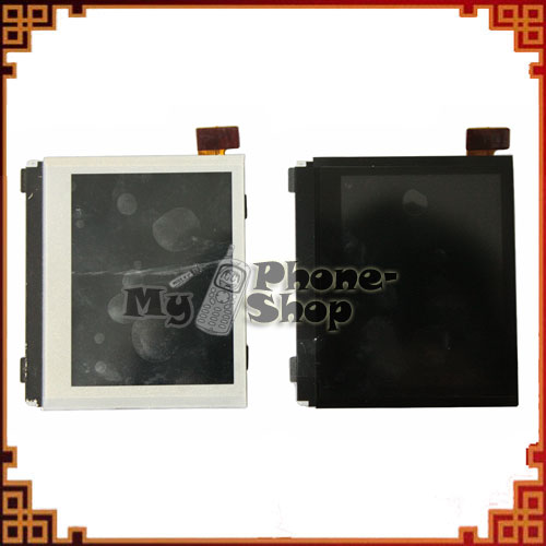 10pcs /lot LCD Screen Display High Quality for BlackBerry Bold 9700 001 002 black and white colour free shipping by DHL EMS(China (Mainland))