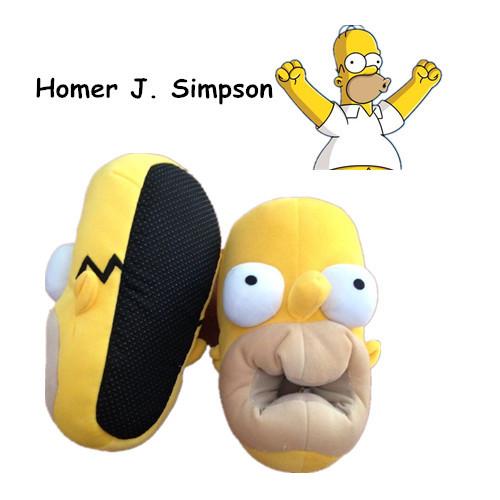 Симпсоны симпсон тапочки 06 02. гомер симпсон размер 06 02.