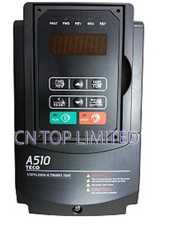 TECO 3Phase 220V 47A 11KW 15HP  Inverter A510-2015-H3 NEW<br><br>Aliexpress