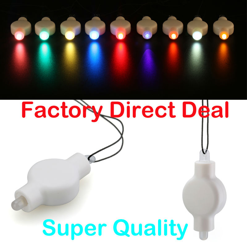 100 Pieces/Lot Original Hanging LED Lights, All Size Ballon and Paper Lantern Decor Mini Light(China (Mainland))