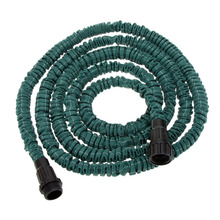 2015 New High Quality Anself Ultralight Garden Watering Hose Magic Pipe Flexible Expandable Garden Hose Dark Green 25FT(China (Mainland))