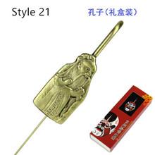 Free shipping Chinese Peking Opera toys bookmarks Logo Design Customization Ancient Art party supply favor tourist souvenir gift(China (Mainland))
