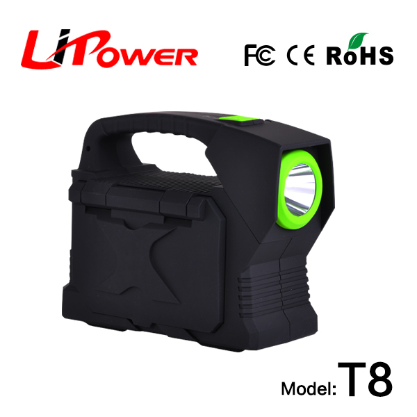 bestselling car accessories 23100mah li-po battery Jump Start Type multi car jumper with battery clamps(China (Mainland))