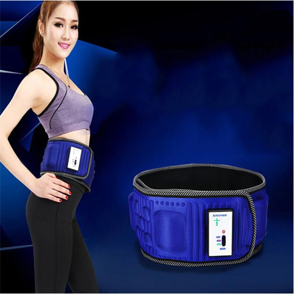 New Arrival Fashion Modern Vibration Slimming Massage Rejection Fat Weight Lose Belt Health Care Home Bueaty