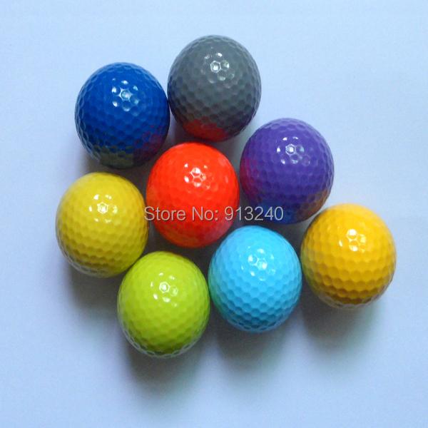 colored floating golf balls(China (Mainland))
