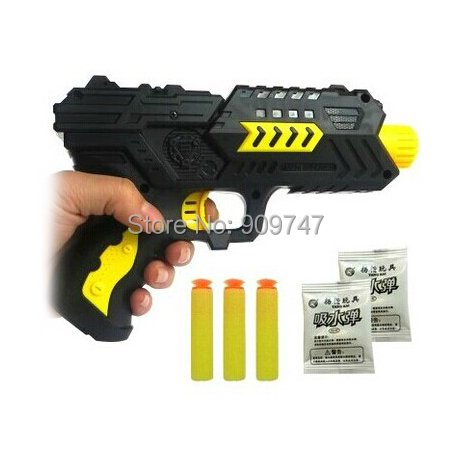 Paintball Gun Pistol & Soft Bullet Plastic Toys CS Game Shooting Water Crystal Nerf Air Airgun - Shenzhen SMD science and technology Co.,Ltd store
