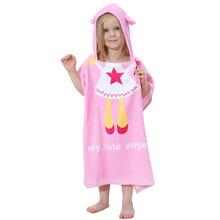 New Cartoon Animal Baby Hooded Bathrobe Infant Bath Towel Bathing Robe For Children Kids Baby Bathrobe Pajamas