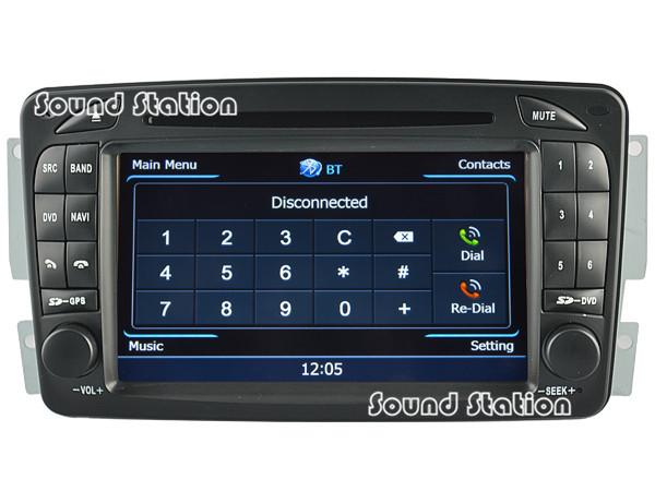 For Mercedes Benz W210 W203 W168 W170 C209 W209 C208 W208 W163 W463 Car DVD GPS Media Radio Audio Central Multimedia Multimidia(China (Mainland))