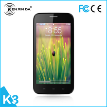 2015 hot sell kenxinda K3 smartphone with MTK 6572 Quan core dual sim card 5 0MP