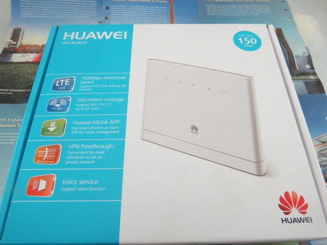 Huawei B315s-22 4G LTE WLAN Router 150Mbit(China (Mainland))