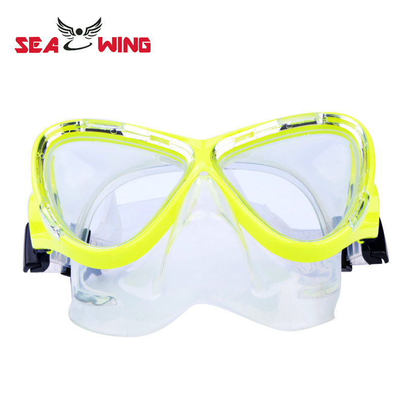 Professional Silicone Tempered Glass Scuba Diving Mask Equipment Snorkel Anti-Fog Waterproof Swim Dive Glasses Men Women SQ1700(China (Mainland))