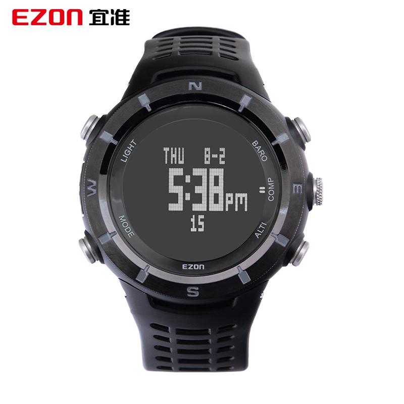 EZON H001C01 outdoor mountain waterproof mens sport utility watch above sea level air temperature relogio masculino feminino<br><br>Aliexpress
