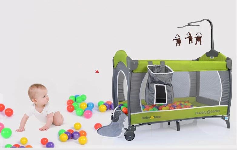 high end baby bed bb toys bed game bed cradle bed fold no paint comfortable shelf. Black Bedroom Furniture Sets. Home Design Ideas