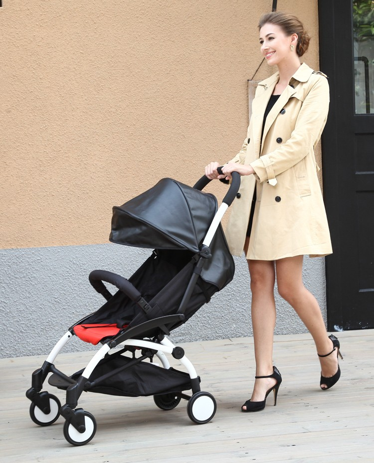 YOYA Four Wheel Baby Stroller Umbrella Car Stroller Ultra-light Folding Aluminium Alloy Stroller Style Like YOYO,5.8kg