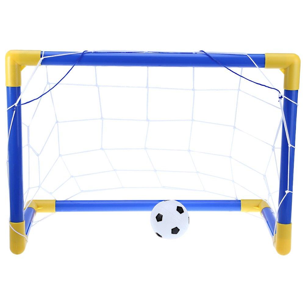 58cm Portable Soccer Goal Post Net Utility Football Soccer Goal Post + Net + Ball + Pump Safe Outdoor Indoor Kids Children Toy(China (Mainland))