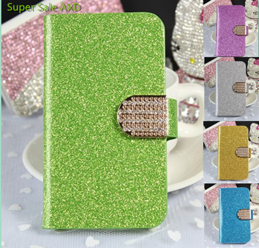 New Wallet Flip Mobile Phone Bags Cases For Sony Xperia T3 T 3 M50W D5102 D5103 D5106 Fashion Bling case cover Free Shipping(China (Mainland))