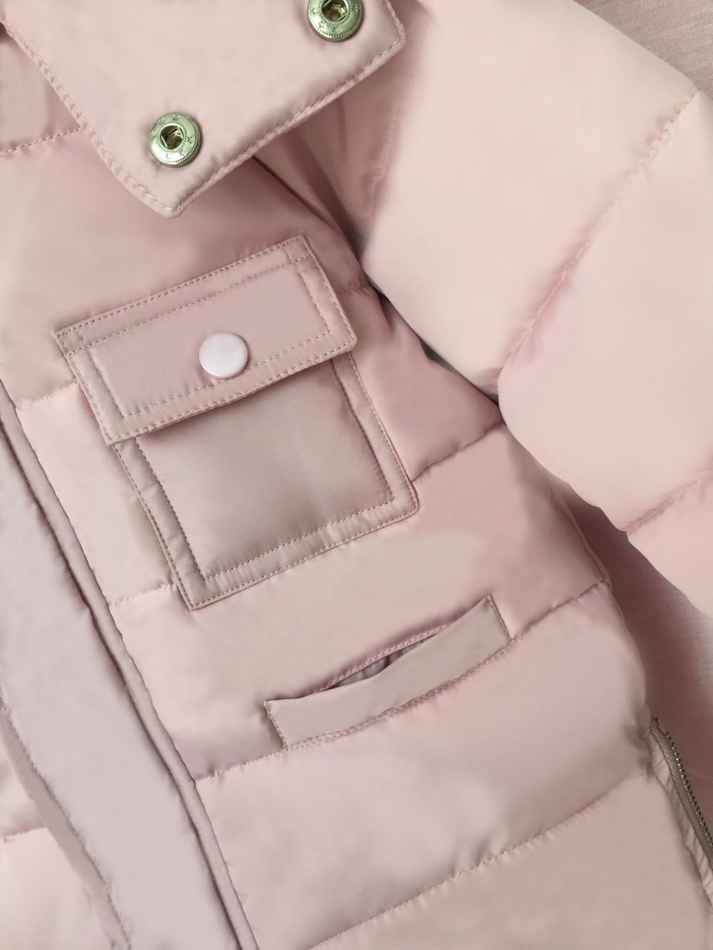 Скидки на 2016 зима новый девушки длинные толстые хлопка мягкой одежда сплошной цвет с капюшоном меховой воротник