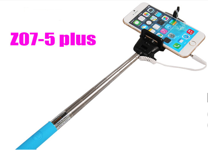 wired selfie stick monopod extendable camera portrait android ios mobile phone palo selfie in. Black Bedroom Furniture Sets. Home Design Ideas