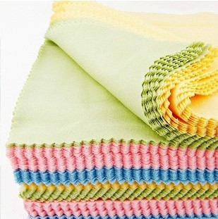 Wholesale retail MICROFIBER CLEANING CLOTH 6X8 DUST WASH LENS DETAILING AUTO DETAILING GLASSES LCD LED TV cleaner CLOTH
